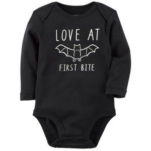 Baby Halloween Long Sleeve Bodysuit/Onesie | 24M